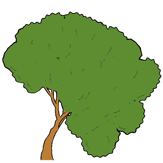 Rendering Artistic And Believable Trees For Cartoon Animation Model is fully textured with all materials applied. believable trees for cartoon animation